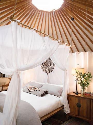 Romantisch en avontuurlijk overnachten in een yurt - Berlicum - Yurt
