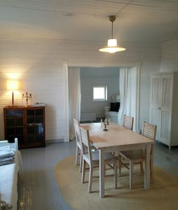 Lovely room in a wooden house 3 persons