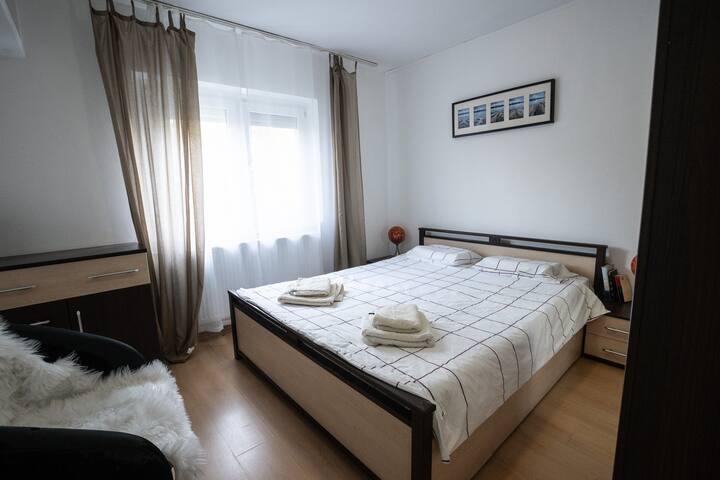 Fresh linen and a super comfortable mattress