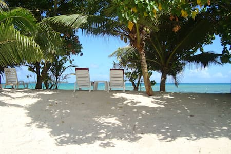 Secluded beachfront villa with FREE WiFi internet