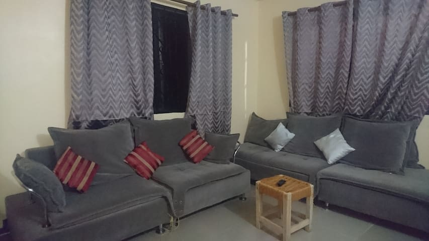 Furnished three bedroom