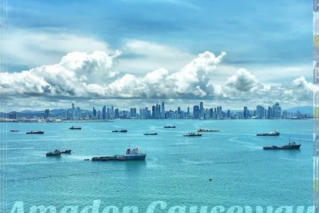 Stunning Views of Water & the Panama City Skyline