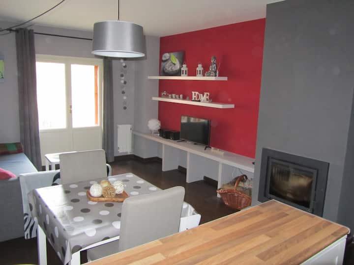 Cómodo apartamento en Villanúa