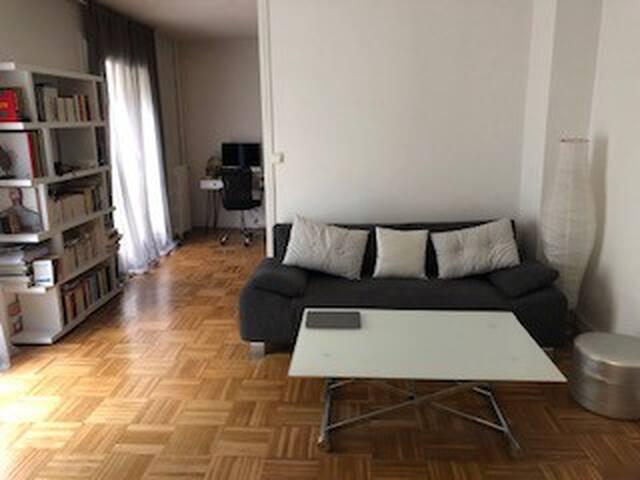 Bel appartement dans le Brooklyn parisien