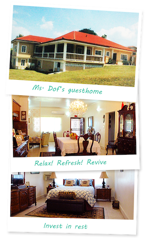 Ms Dof's Guest Home. Room #1