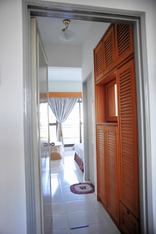 Bedroom with Balcony and Private Bath