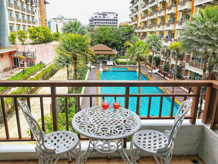 Best Location Patong Near Jungceylon + Pool View