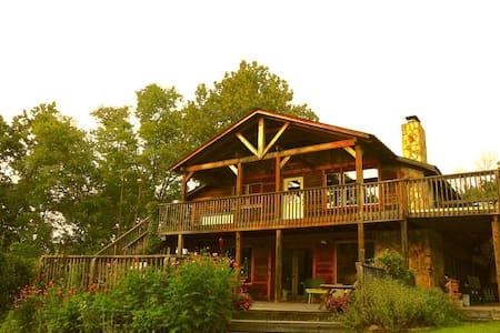Hanging Rock - 7 Bedroom Lodge, Beautiful Views - Danbury - Hus