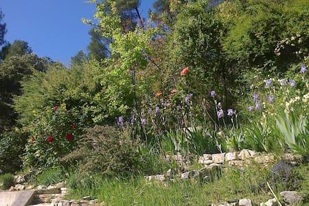 Loft de 100m², rez avec terrasse dans la verdure. - Meyrargues
