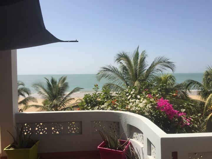 Appartement de charme Saly Sénégal front de mer