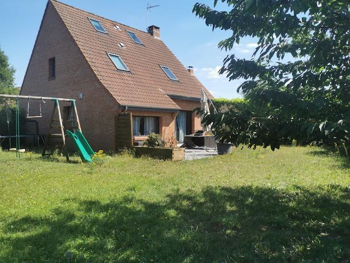 Maison individuelle proche chr  5 min de Lille
