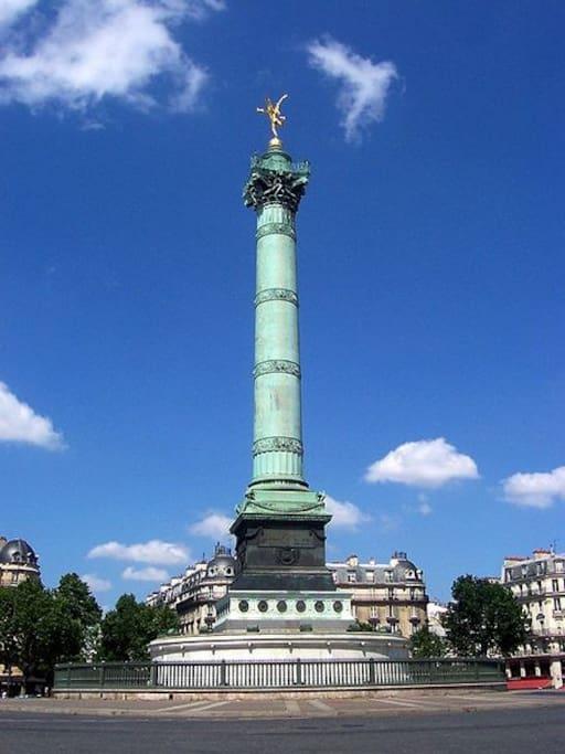 Appart confortable et joli gare de lyon bastille - Chambre d hotes paris bastille ...