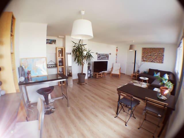 Appartement spacieux proche Paris - Thiais - Leilighet
