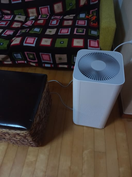 New! Xiao Mi Smart air purifier! most other air BNBs don't have this essential item for Seoul.
