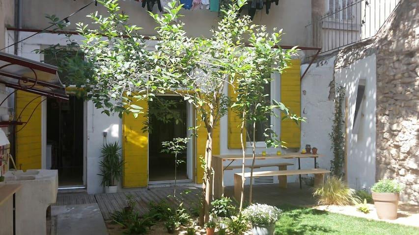 Appart/loft marseille avec jardin - Marsella - Loft