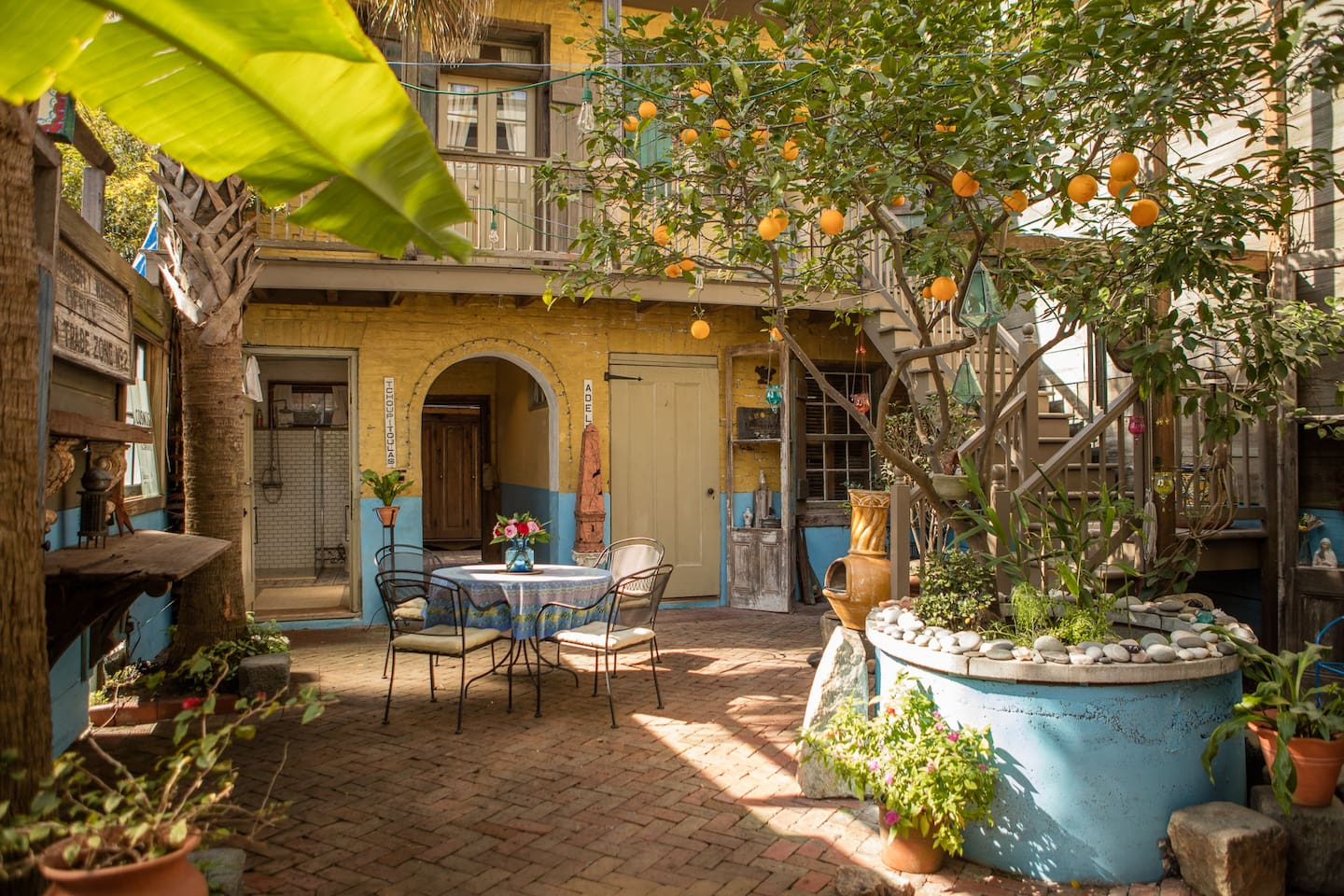 courtyard balcony room circa 1834 houses for rent in new orleans