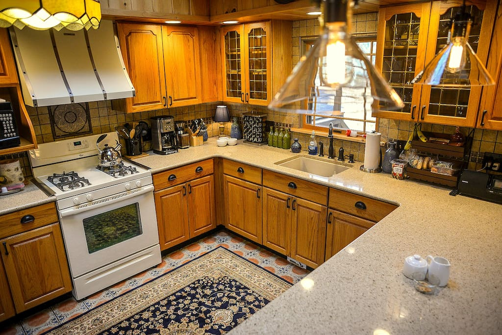 Cooks Kitchen including granite counter tops and every tool & accessory needed to make any Gourmet Meal