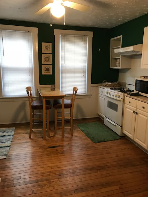 Full eat in kitchen with all appliances