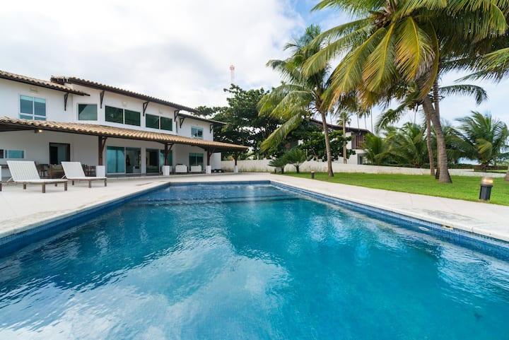 Casa 6 Quartos Beira Mar Toquinho