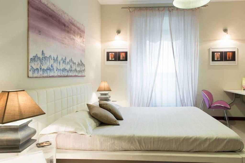 Big guest room