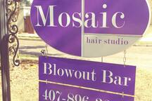 In town for a wedding or special occasion? Blowout bar just next door.