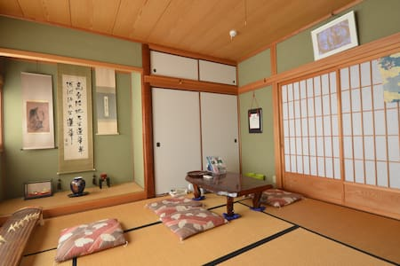 private house for rent at the foot of Yashima