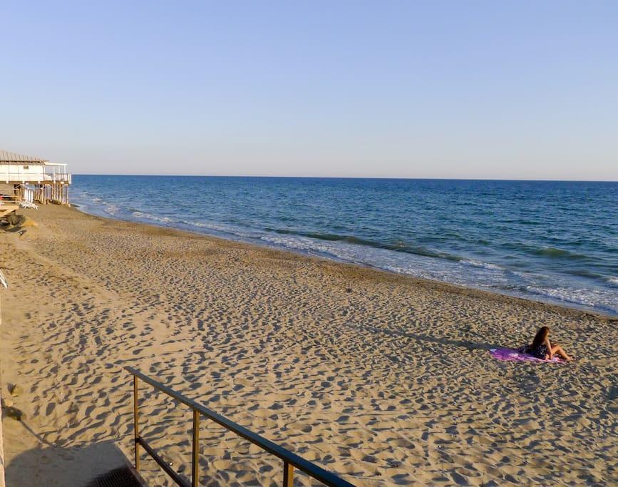 Villetta al mare case in affitto a marina di ascea for Piani casa sulla spiaggia con portici