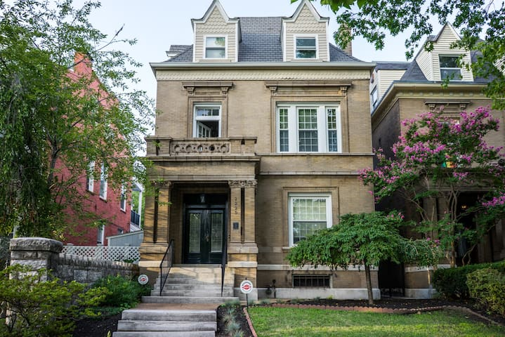 Historic 9 Bed Mansion in Lafayette Park