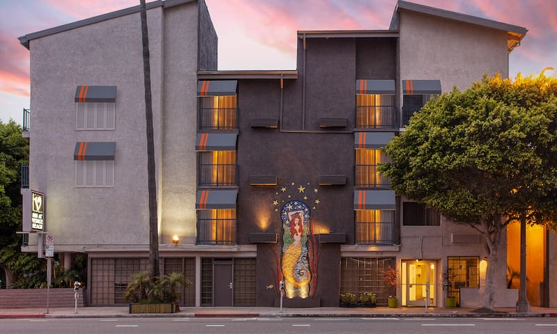 Inn at Venice Beach, Deluxe Queen, Boho chic