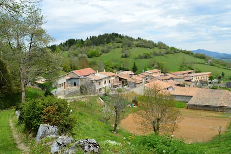 Trassoulas cottage, gorgeous views - Belcaire - Talo