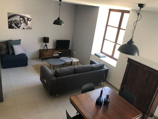 Maison lumineuse à Boulieu