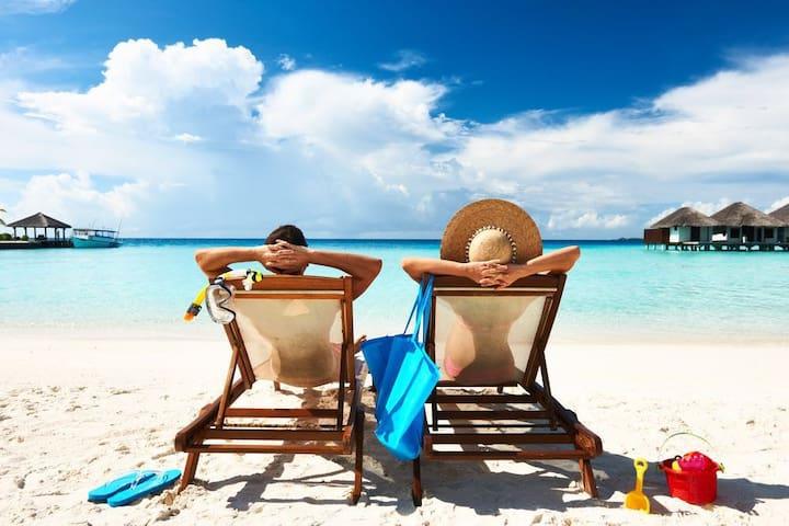 Secs from Beach&5th,2B&BA,Pool,A/C - Playa del Carmen - Leilighet