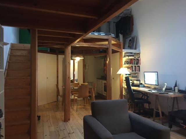 Atic Loft Duplex centric in Gracia. With terrace - Barcelona - Apartment