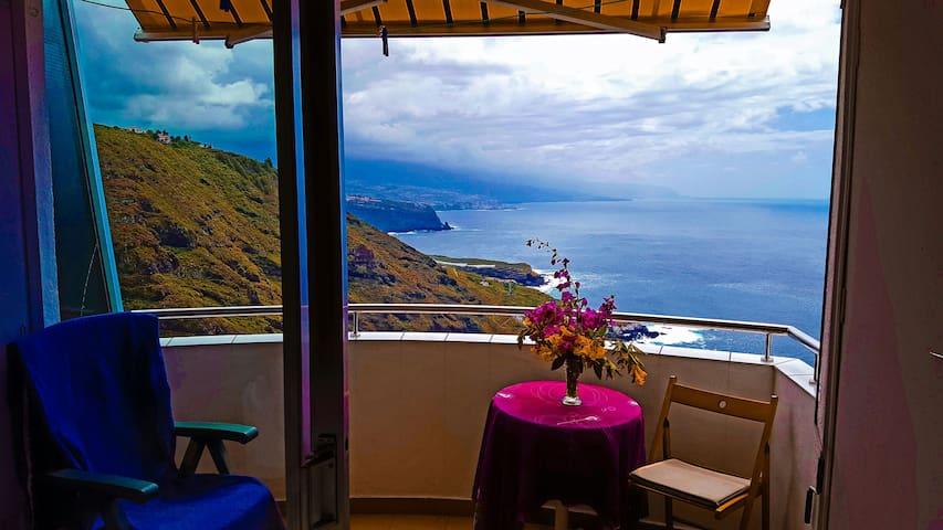 Punta Azul Tenerife - La Matanza de Acentejo - Huoneisto