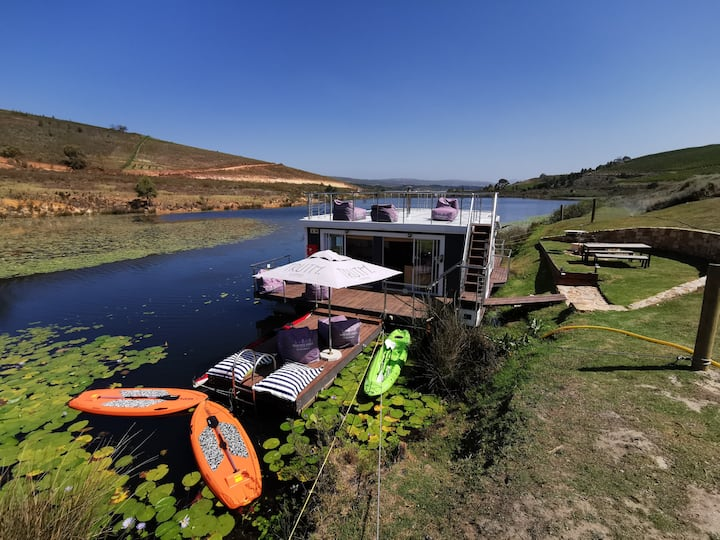 House Boat In The Heart of The Winelands