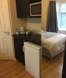 En-suite double room with kitchen - London