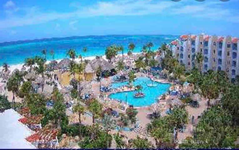 Costa Linda Resort Jan 8 -15 Best beach in Aruba
