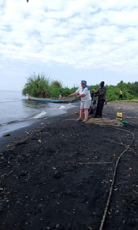 SAGREMA FAMILY HOME:-  MFANGANO ISLAND KENYA.