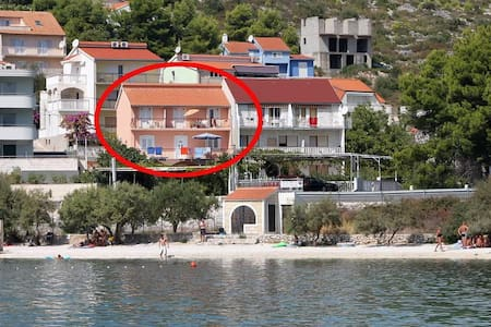 One bedroom apartment with terrace and sea view Marina, Trogir (A-6116-a) - Inny