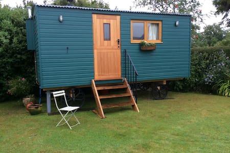 Shepherds Hut in Garden - Upper Woodford