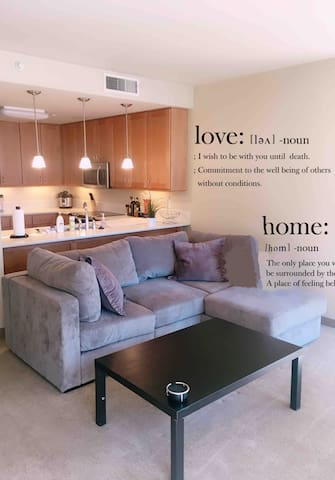 Luxury apartment in center downtown SLC