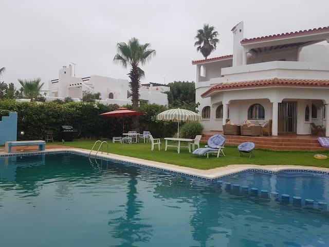 Villa de luxe Cabonegro, north of Morocco