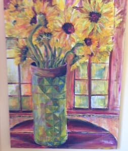 Sunflower Room in the countryside - Auburn