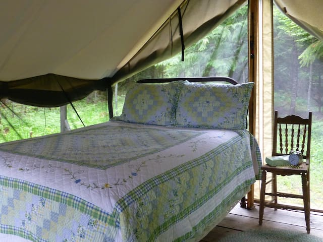 Huckleberry Tent - Mountain View - Clark Fork - Stan