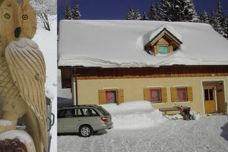 Ferienhaus Sackl Lachtal Ferienwohnung C 60 m2