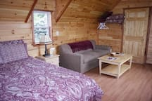 One of Our Handicap Accessible Cabins with Queen Bed and Queen Sleeper Sofa