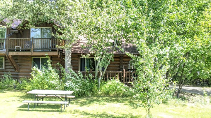 Timber Wolf Cabin: Two Bedroom