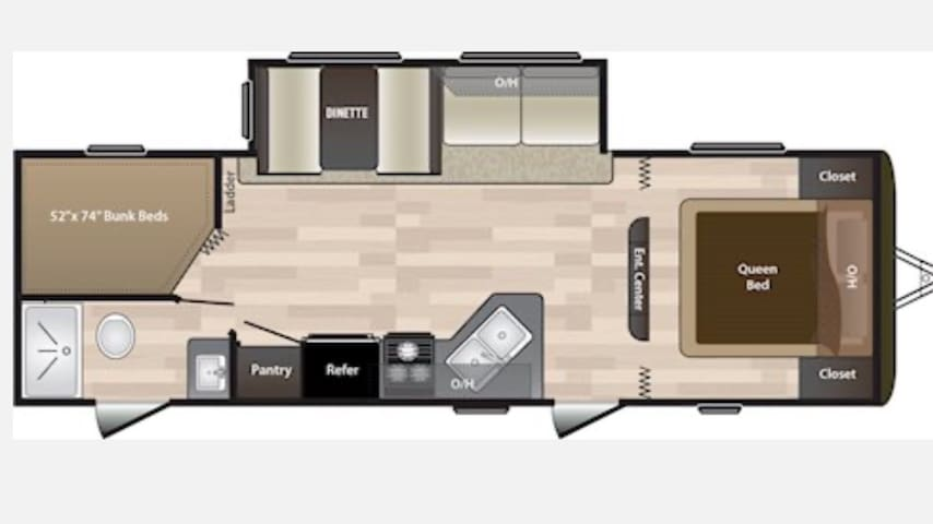 Beautiful 2018 Keystone Hideout LHB272
