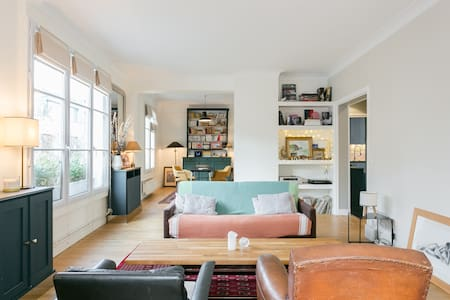 Big and sunny flat for families - Boulogne-Billancourt - Pis