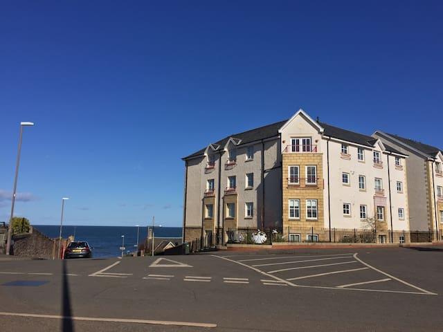 Two bedroom Dunbar seaside flat. - Dunbar - Huoneisto